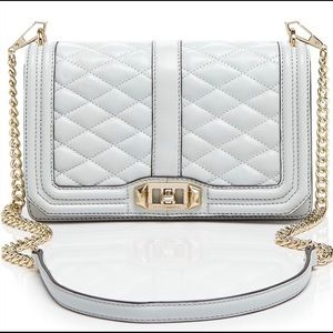 Rebecca Minkoff Love Crossbody Aloe Mint